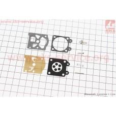 Ремонтный комплект карбюратора MS-240/260, 8 деталей