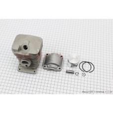 Цилиндр к-кт (цпг) MS-180 38мм (палец 10мм)+поддон