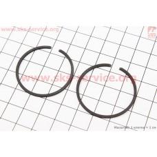 Кольца поршневые 34х1,5мм Stihl FS-38/45/55, OLEO MAC SPARTA 25