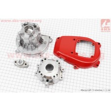 Картер для мотокосы 1E32F (три детали)