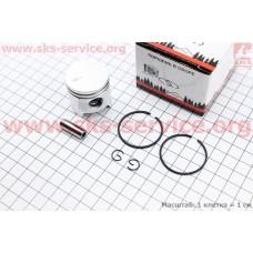 Поршень, кольца, палец к-кт 34мм (палец 8мм) Stihl FS-38/45/55, MM55, BT45