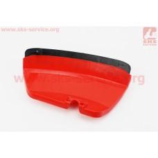 Защита ножа пластмассовая с резинкой (лопух) Тип №2