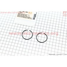 Кольца поршневые 34х1,5мм Stihl FS-38/45/55, OLEO MAC SPARTA 25 ОРИГИНАЛ